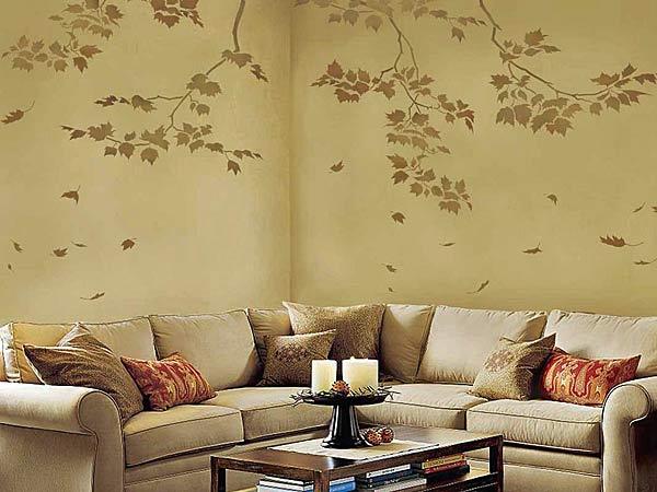 Pitture decorative sulle pareti di casa 15 idee da non - Idee pitture interni ...