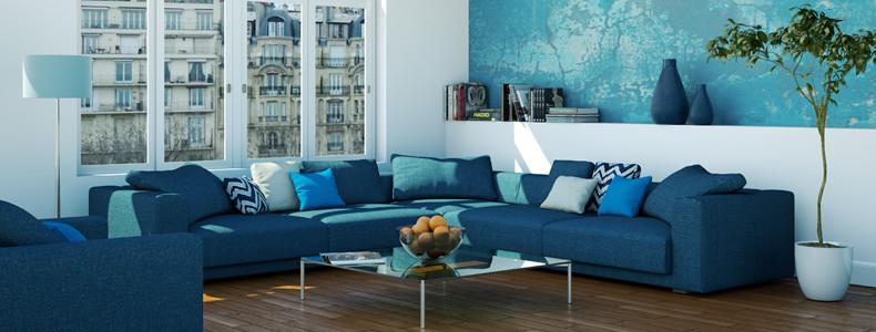 Il colore giusto dietro al divano ecco 15 idee tutte da for Colori per salone