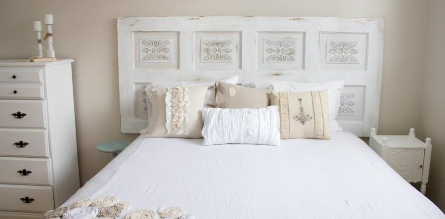 Testiere letto originali e fantasiose 15 bellissime idee - Spalliera del letto ...