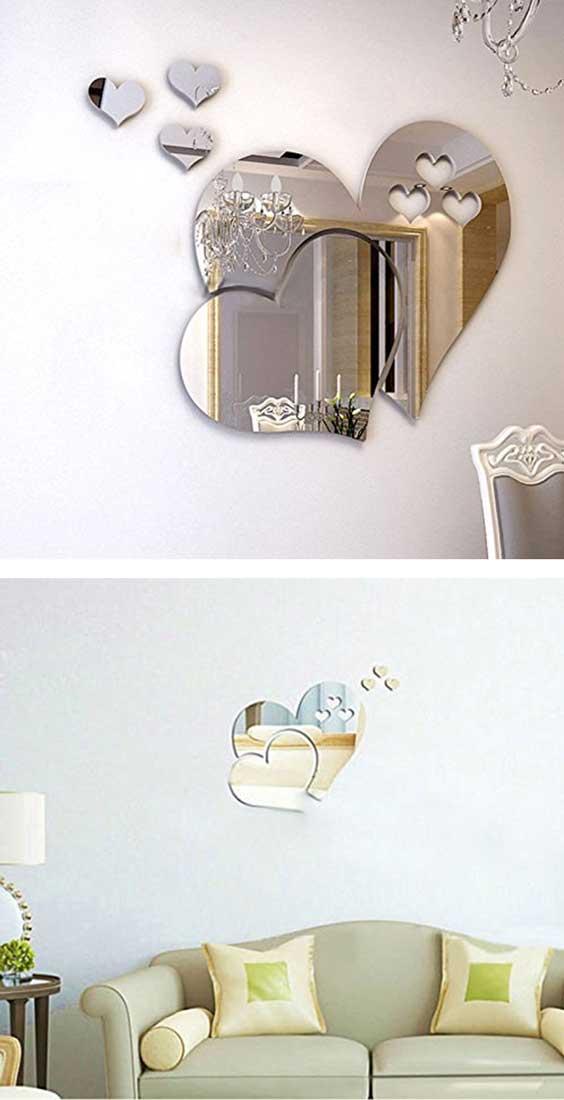 Adesivi effetto specchio
