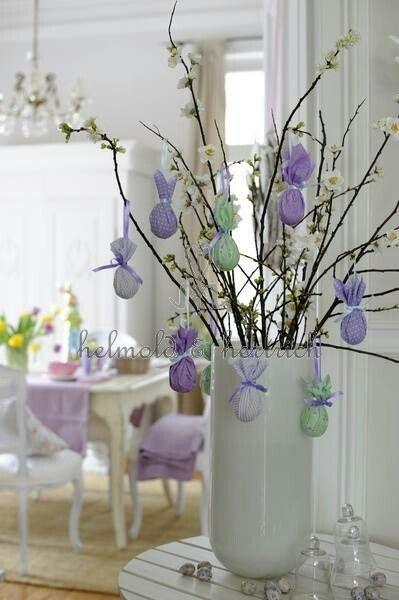 Un albero di pasqua ecco 20 idee creative per decorare - Albero di pasqua idee ...