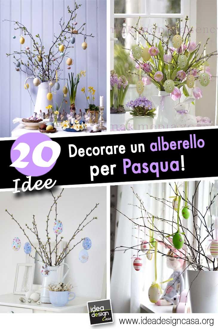 Idee Creative Per La Casa un albero di pasqua! ecco 20 idee creative per decorare