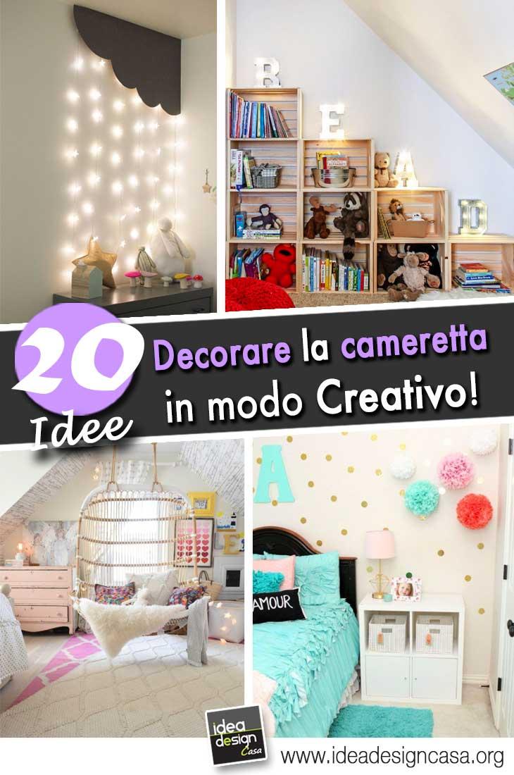 Decorare la camera dei bambini in modo creativo 20 idee for Arredare la cameretta dei bambini