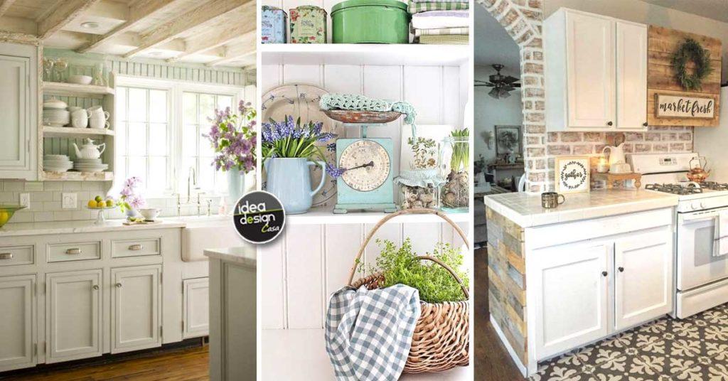 Le Cucine Country 20 Idee Per Un Arredamento Perfetto