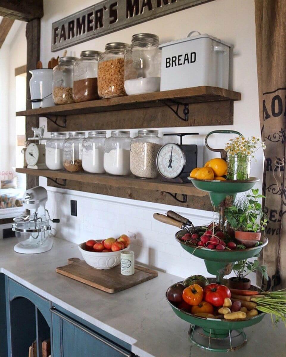 Arredare la cucina in stile country ecco 20 bellissimi for Arredare la cucina