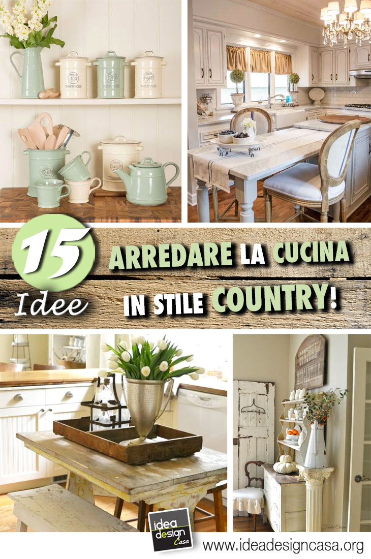 Decorate your Country kitchen! Here are 20 beautiful examples to ...