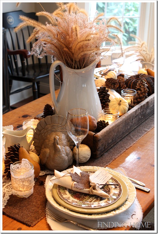 Centrotavola in legno fai da te 15 idee per un tocco rustico nella tua casa - Idea casa biancheria mestre ...