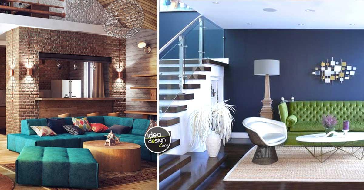 Abbinare un divano dai colori vivi ecco 15 idee per farlo - Idea design casa ...