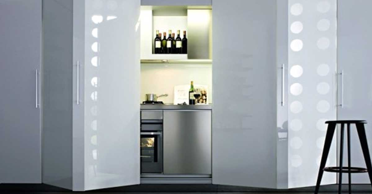 La cucina a scomparsa 15 idee pratiche a cui ispirarvi for Aziende cucine design