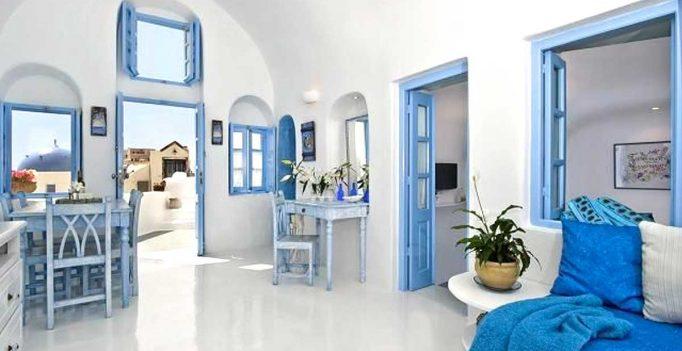 Bagno Shabby Chic Azzurro : Decorare casa con bianco e azzurro: ecco 15 idee per ispirarvi!