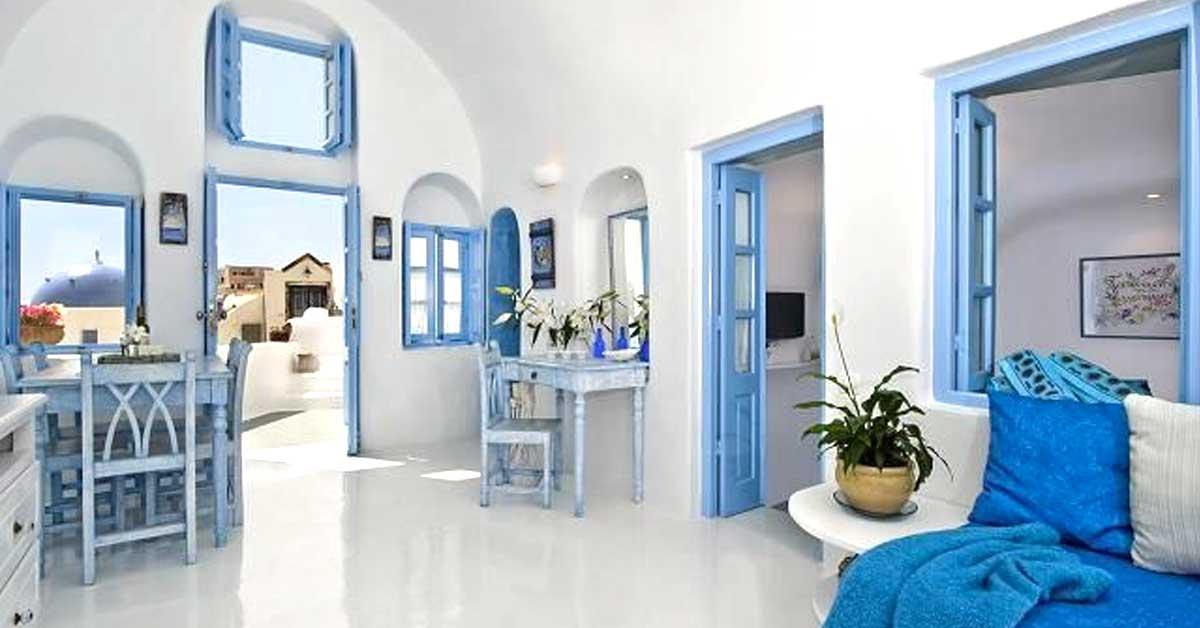 Arredo Bagno Colore Azzurro.Decorare Casa Con Bianco E Azzurro Ecco 15 Idee Per Ispirarvi