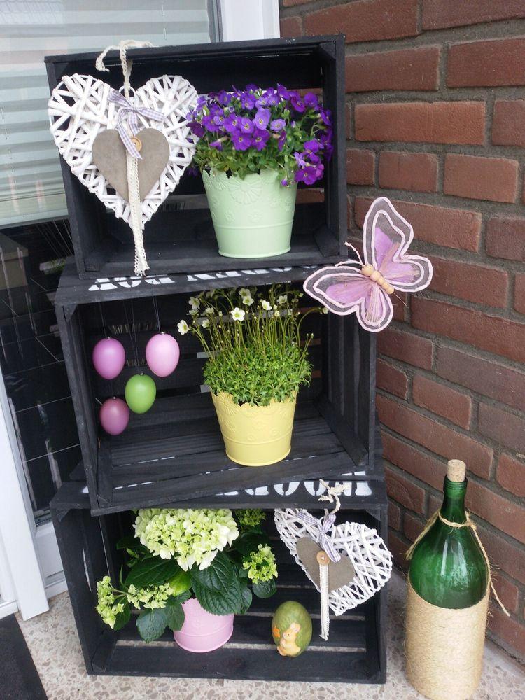 Decorare il portico di casa per Pasqua
