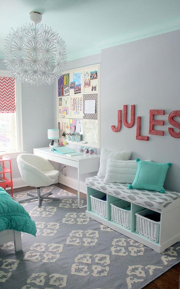 Decorare la camera dei bambini in modo creativo 20 idee - Decorare camera bimbi ...
