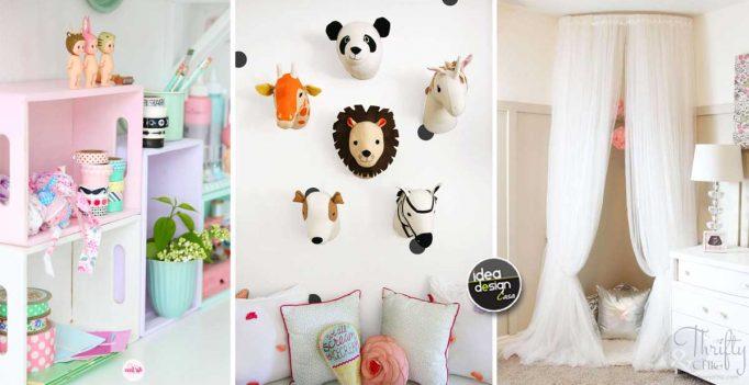 Come arredare la camera da letto tante idee originali su ideadesigncasa - Decorare camera bambini ...