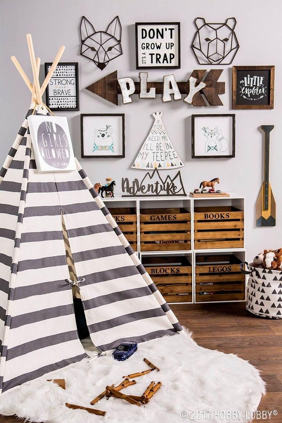 Decorare la camera dei bambini in modo creativo 20 idee - Camera dei bambini ...