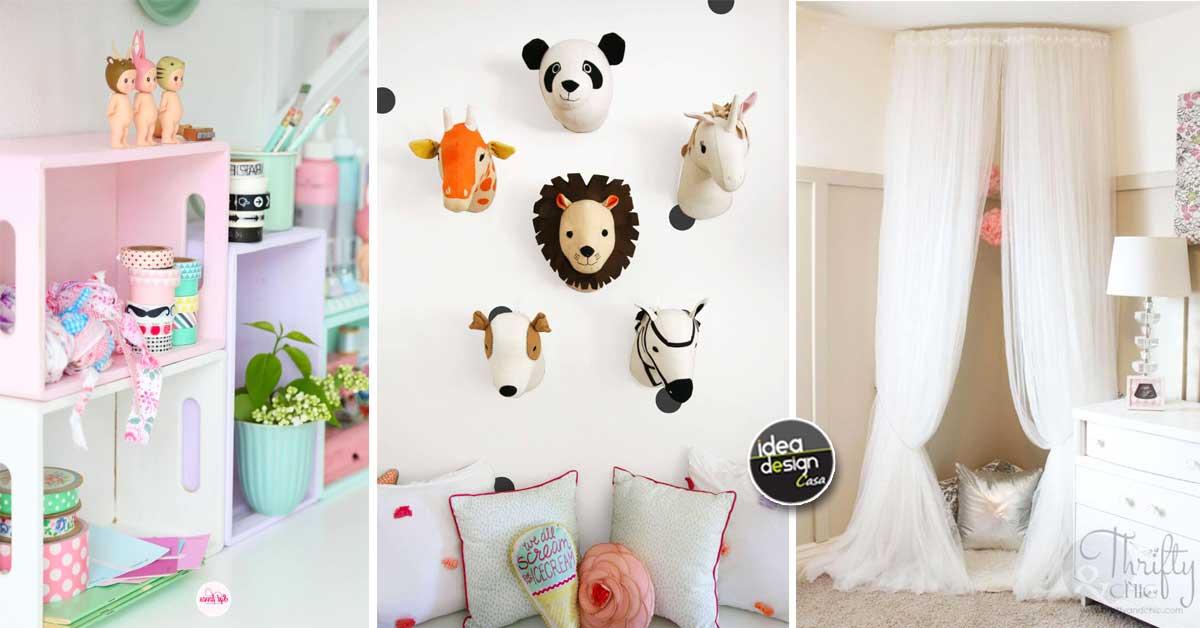 Decorare la camera dei bambini in modo creativo 20 idee per ispirarvi - Decorare camera bambini ...