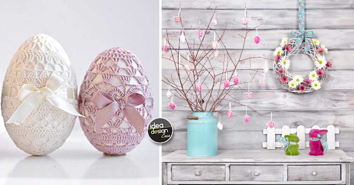 Decorazioni Di Pasqua Stile Shabby Chic 20 Idee Creative