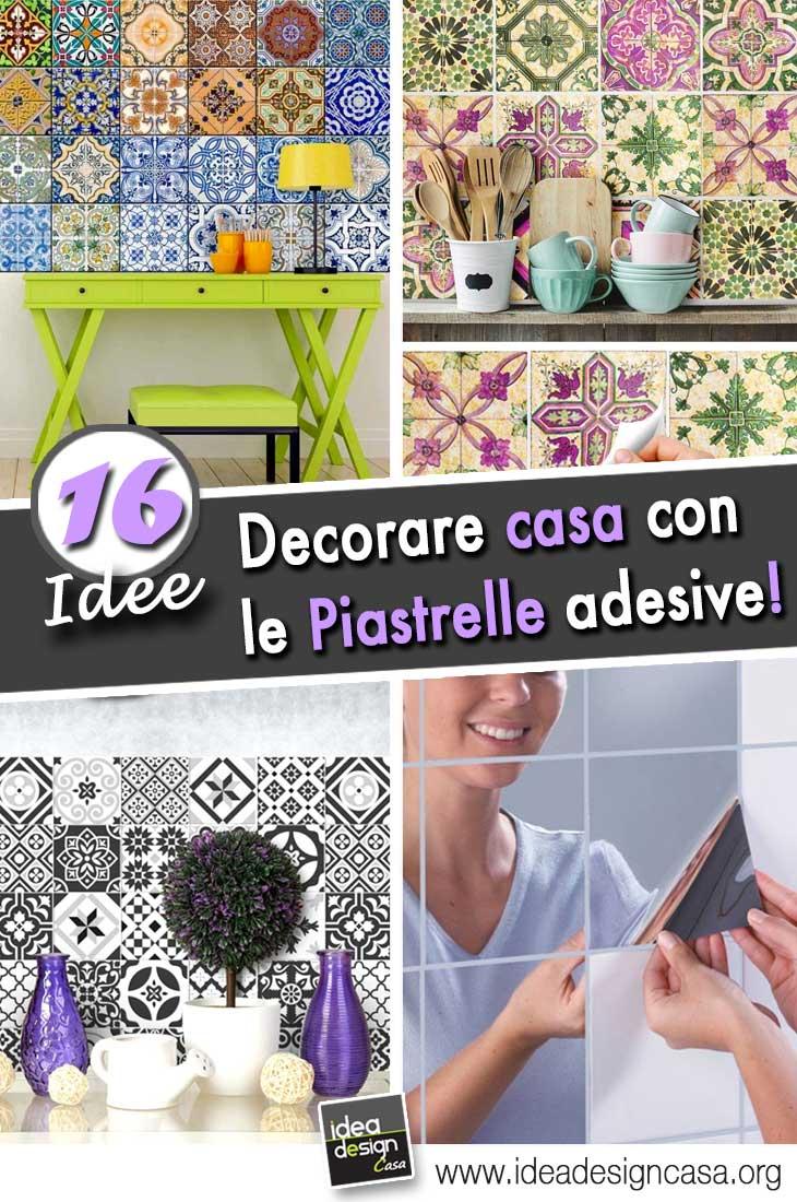 Decorare con le piastrelle adesive 16 idee per la vostra for Decorare le case
