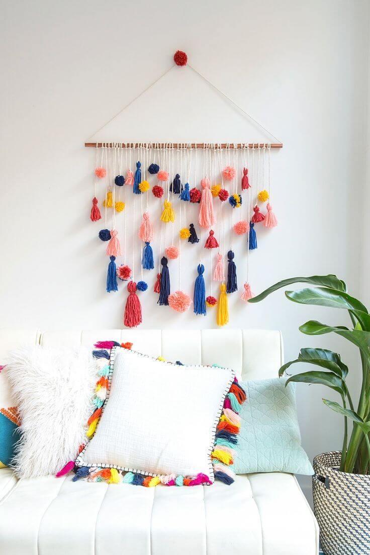 Decorazioni appese fai da te per le pareti economico ed for Idee decorazioni pareti