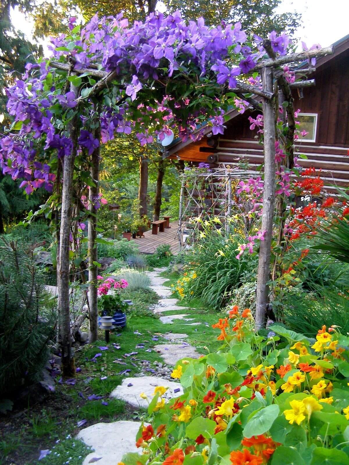Decorare il giardino in modo creativo
