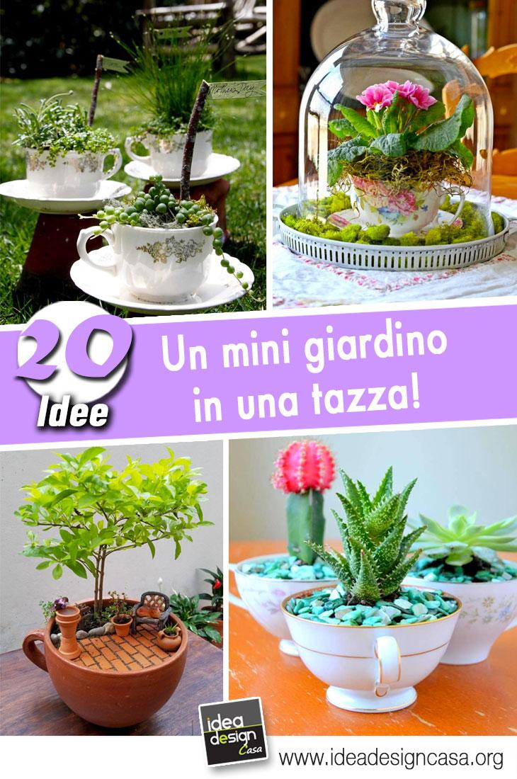Fioriere Originali Fai Da Te un mini giardino in una tazza! ecco 20 bellissime idee fai