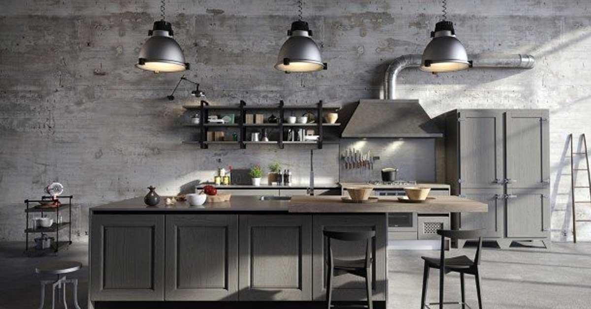 La cucina in stile industriale: 15 idee trendy da cui trarre ...