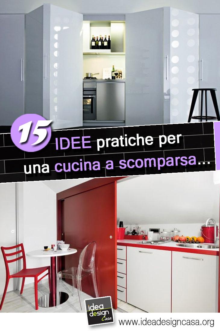 La cucina a scomparsa 15 idee pratiche a cui ispirarvi - Idee per cucina ...