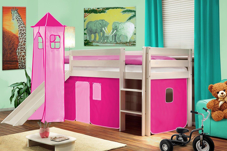Ottimizzare la camera dei bambini con un letto a soppalco for Letto con soppalco