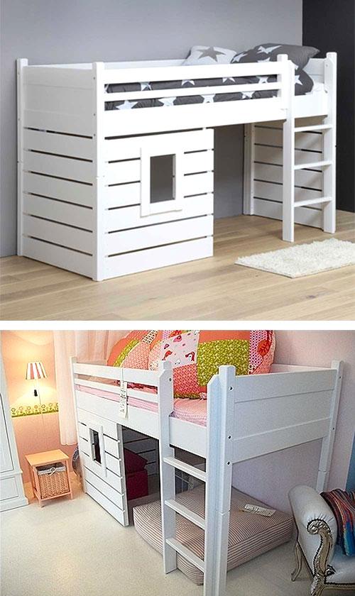 Ottimizzare la camera dei bambini con un letto a soppalco - Camera dei bambini ...