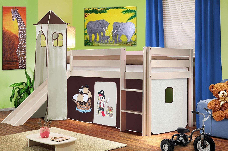 Ottimizzare la camera dei bambini con un letto a soppalco for Letto a soppalco
