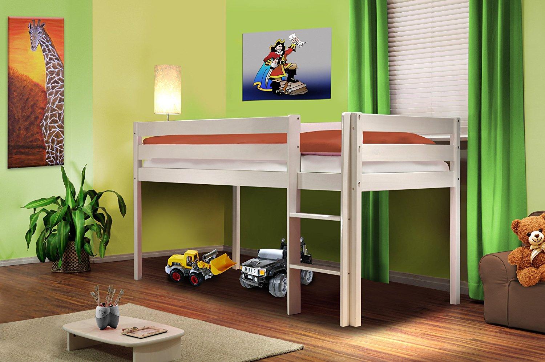 Ottimizzare la camera dei bambini con un letto a soppalco - Letto rialzato per bambini ...