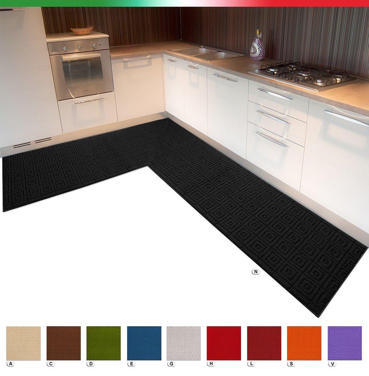 Scegliere il giusto tappeto per la cucina 20 idee da cui - Tappetino cucina ...
