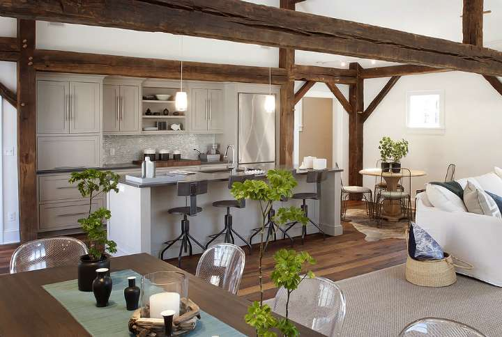 Idee Cucine A Vista.Come Arredare Una Cucina A Vista 15 Idee Assolutamente Da