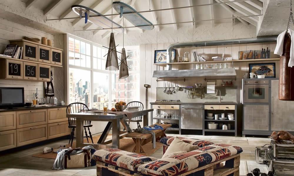 Come arredare una cucina a vista: 15 idee assolutamente da ...