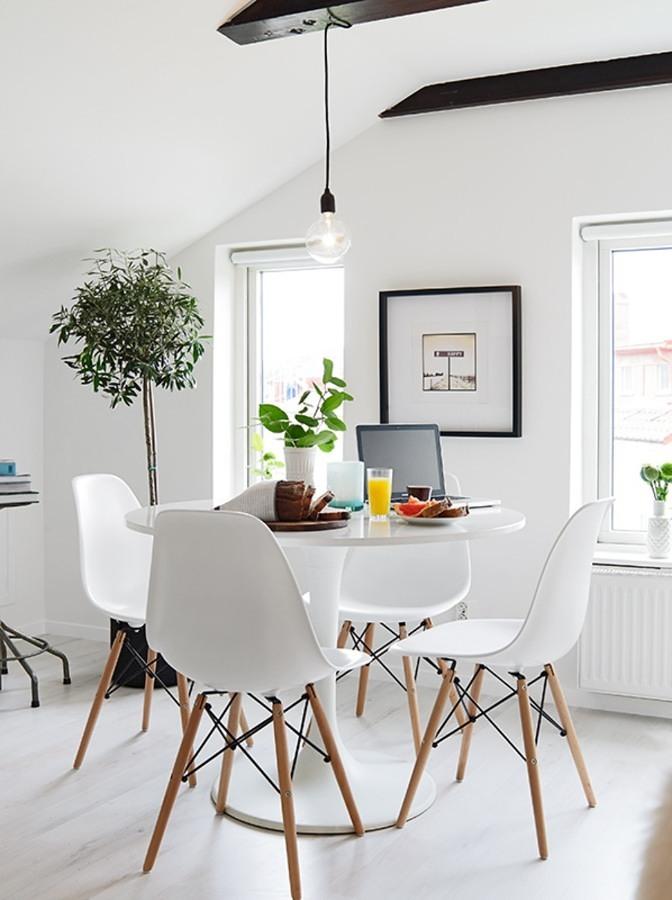 La sala da pranzo piccola