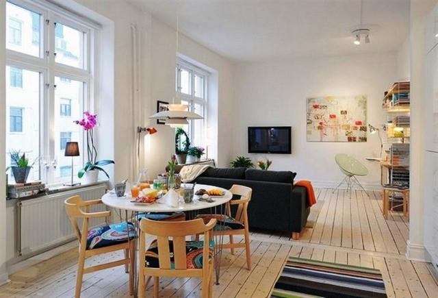 La sala da pranzo piccola ecco 15 soluzioni d 39 arredo - Disposizione salotto sala pranzo ...