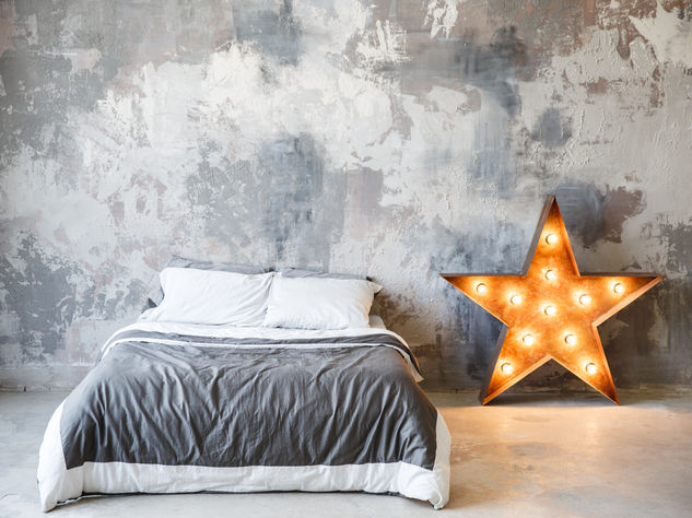 Letto Blu Colore Parete : Pittura camera da letto blu perfect pittura per camera da letto