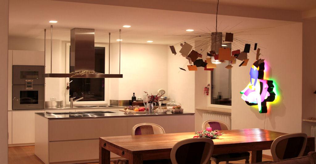 Come illuminare la sala da pranzo la risposta in 15 idee ispiratevi - Lampadario sala da pranzo ...