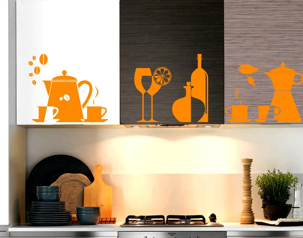 Decorazioni adesive per la cucina: 15 idee che amerete!
