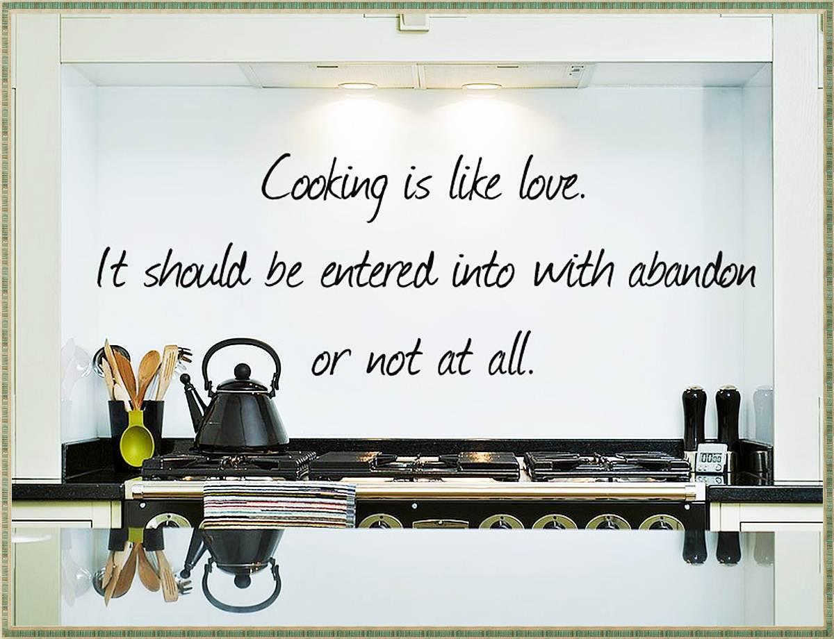 Decorazioni adesive per la cucina 15 idee che amerete - Decorazioni sui muri ...