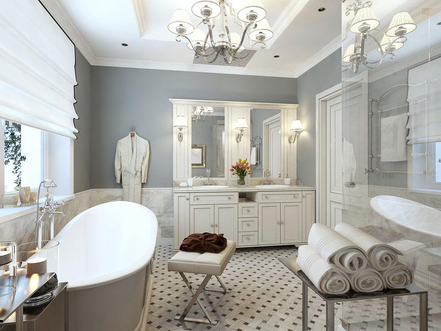 Bagno Stile Romantico : Il bagno in stile provenzale splendide idee per ispirarvi