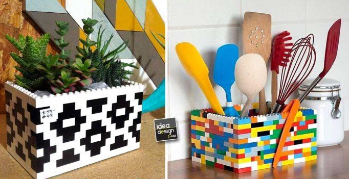 Arredare casa con i mattoncini lego ecco 10 idee per ispirarvi - Idee per arredare casa con poco ...