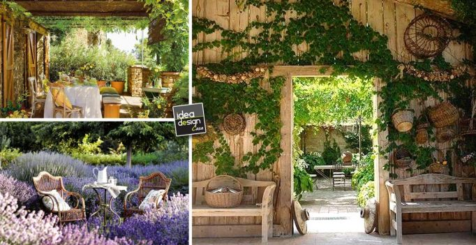 Come arredare il giardino in stile country 15 idee che vi for Idee giardino shabby
