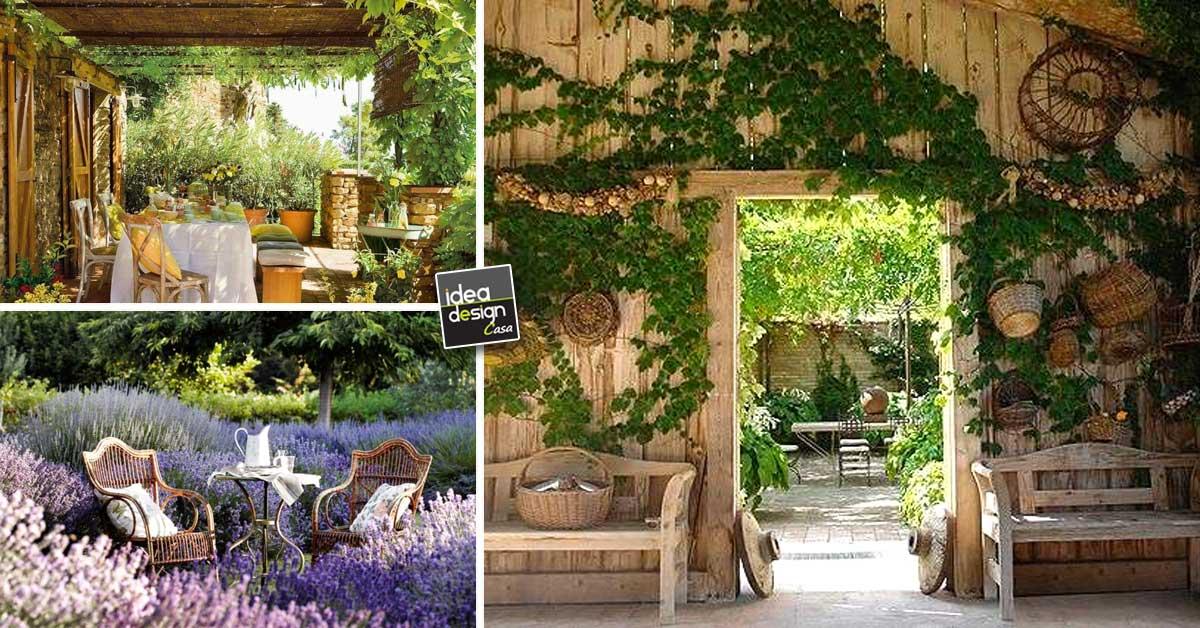 Idee Per Arredare Casa Country.Come Arredare Il Giardino In Stile Country 15 Idee Che Vi