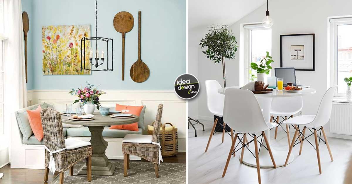 La sala da pranzo piccola ecco 15 soluzioni d 39 arredo for Piccola sala da pranzo
