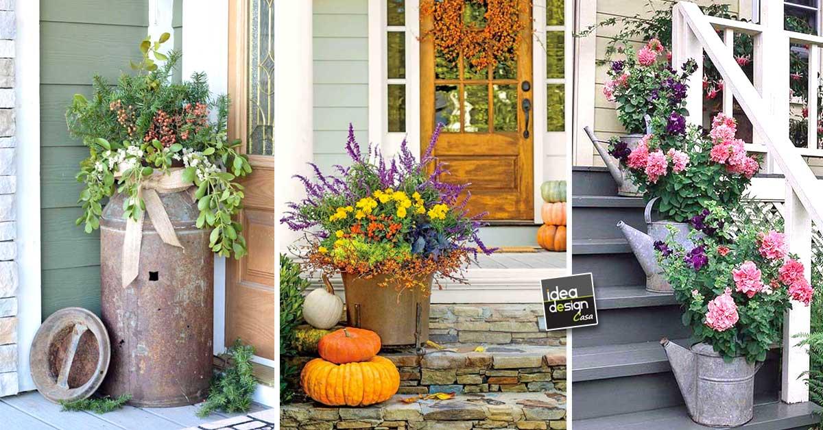 Una bella fioriera per ravvivare l 39 ingresso di casa 20 for Idee per realizzare una fioriera