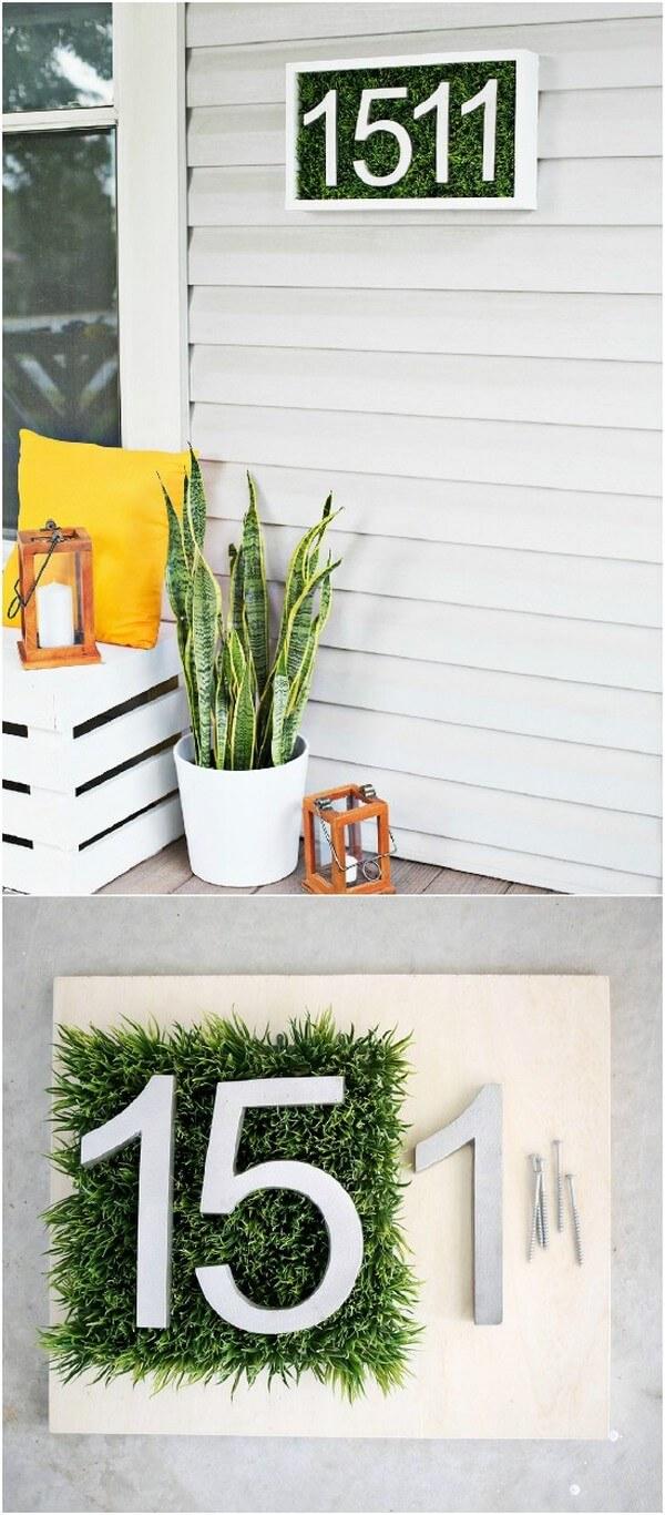 Decorare il portico di casa per la primavera