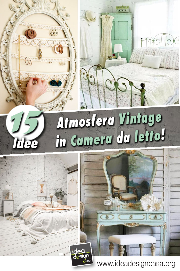 Decorazione Vintage in camera da letto... 15 bellissime idee per ...