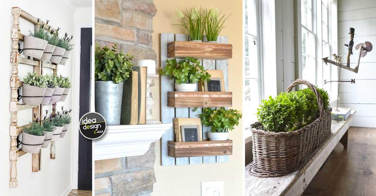 Decorazioni green in stile country 18 idee fai da te per ispirarvi - Idea design casa ...