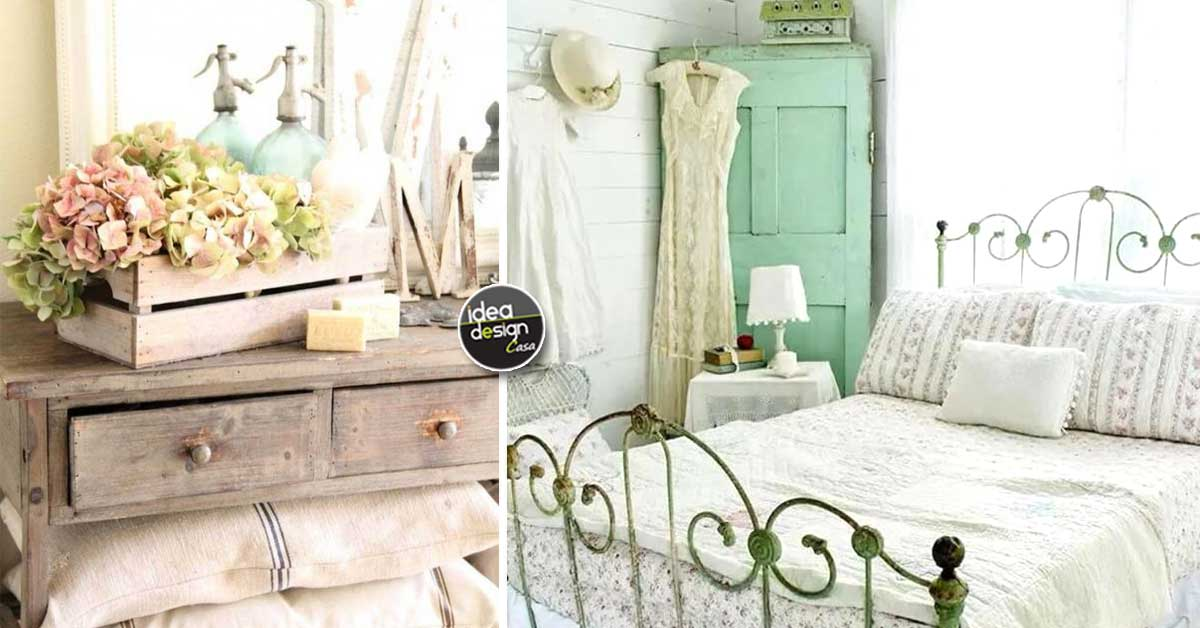 Decorazione vintage in camera da letto 15 bellissime - Decorazioni camera da letto ...